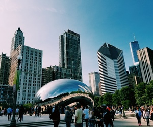 bean, chicago, and grant park image