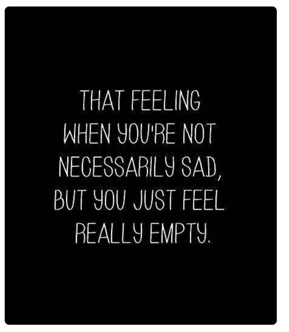 sad, empty, and quotes image