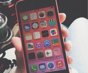 iphone, pink, and iphone 5c image