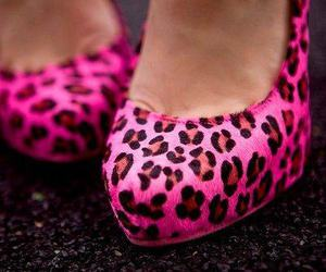 cheetah, spotted, and shoes heels pumps image