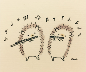 animals, flute, and music image