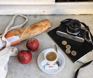 aesthetics, coffee, and apples image