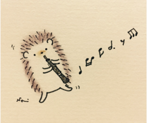 animal, music, and notes image