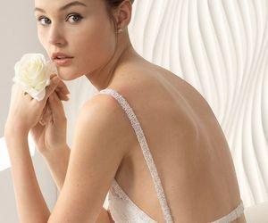 beautiful, pretty, and wedding dresses image