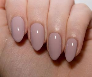 beauty, nails, and beige image