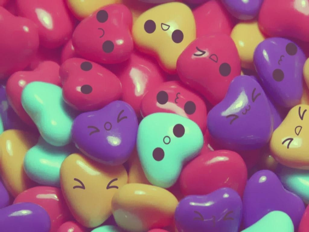 candy and hearts image