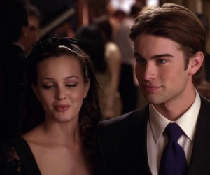 blair waldorf, leighton meester, and Chace Crawford image