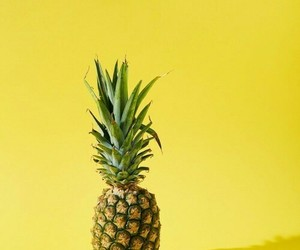 pineapple, yellow, and tumblr image