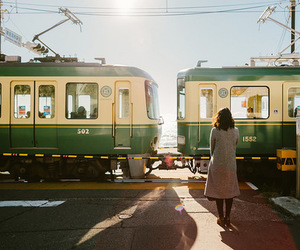 train, photography, and travel image