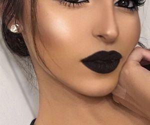 flawless, girl, and makeup image