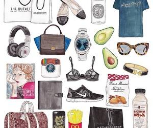 agenda, moda, and acessorio image