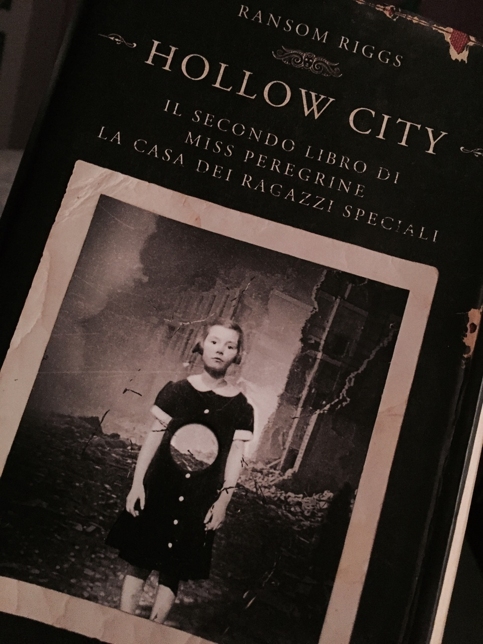 book, hollow city, and books image