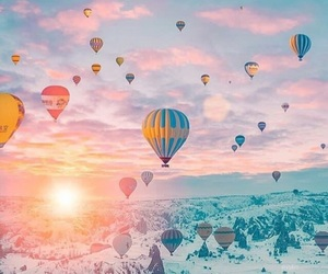 travel, cappadocia, and nature image