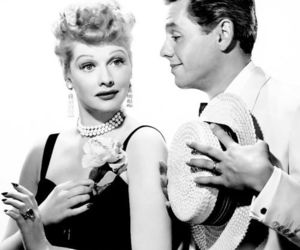 cute, black and white, and I Love Lucy image