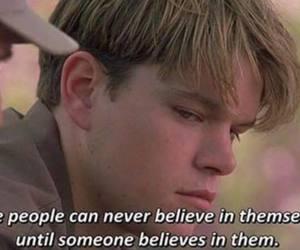 believe, matt damon, and movie image