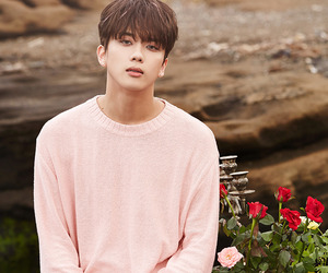 kpop, pink, and youngjae image