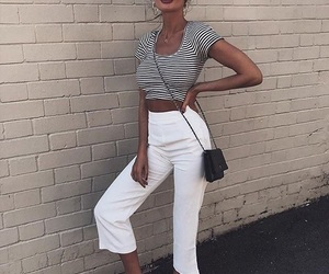 casual, fashion, and pants image