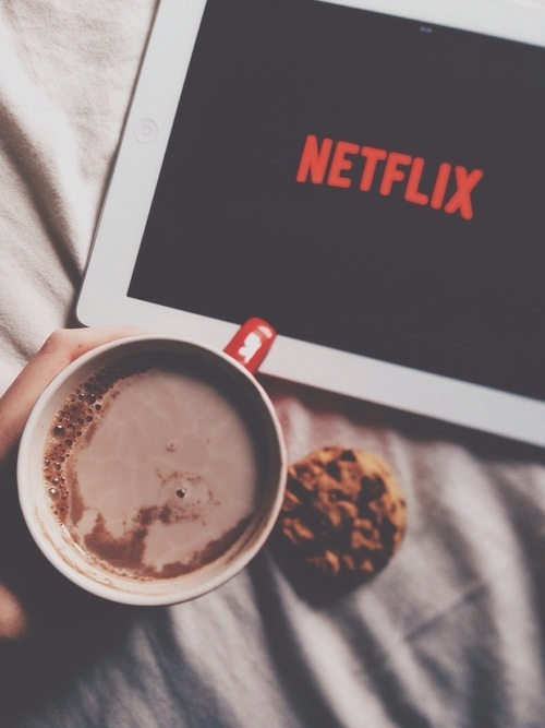 netflix, article, and food image