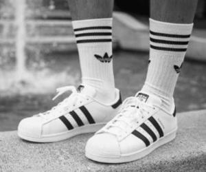 adidas, black, and cool image