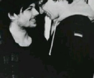 black and white, lgbt, and one direction image