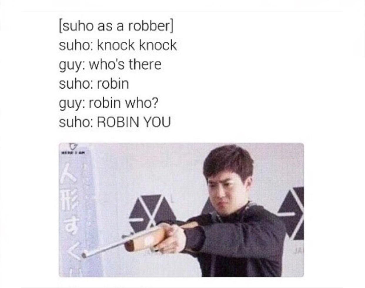 exo, jocke, and funny image
