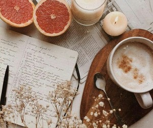 candle, coffee, and home image