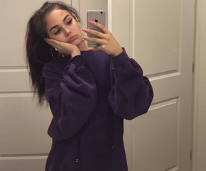 maggie lindemann, icon, and purple image