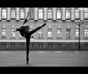 beautiful, black & white, and dancer image