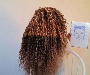 curl, drawing, and goals image