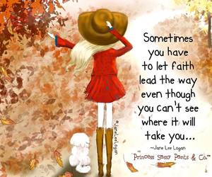 autumn, quotes, and faith image