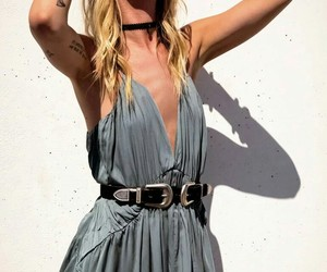 boho, dress, and indie image