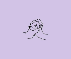 wallpaper, hands, and purple image