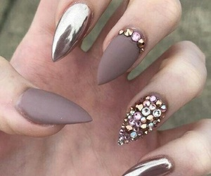 nail art, follow me, and unghie image