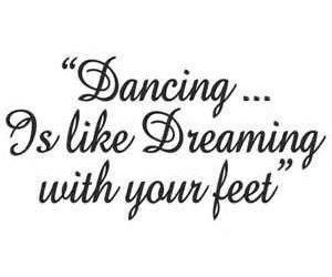 dance and dreaming image