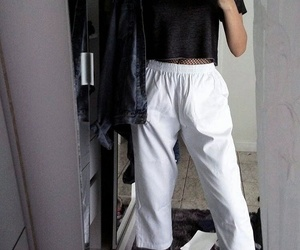 fashion, look, and minimal image