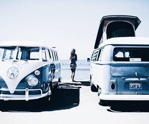 blue, car, and beach image