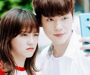 couple, korea, and kdrama image