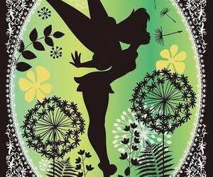 tinkerbell, disney, and peter pan image