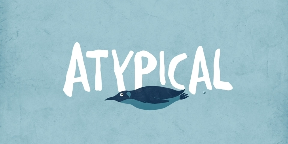 article, netflix, and atypical image