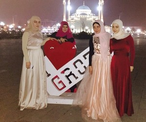 hijab, chechen, and grozny image