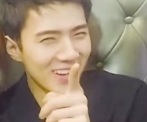 exo, reaction, and exo sehun image