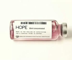 hope, pink, and medicine image