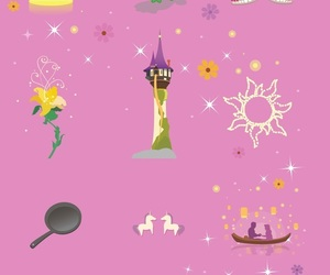 tangled, wallpaper, and disney image