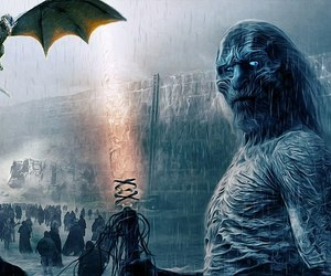 amazing, dragon, and ice image