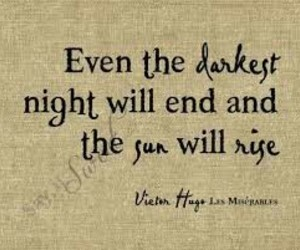 quote, sun, and night image