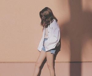 girl, tumblr, and korean image