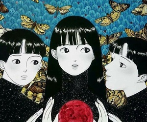 anime, art, and cartoon image