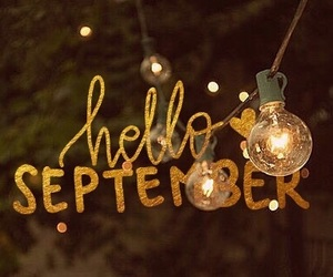 autumn, hello, and September image