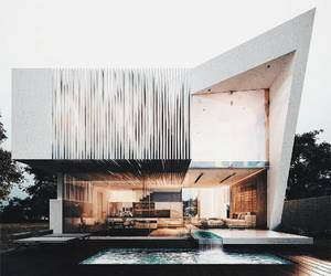 architecture, bright, and contemporary image