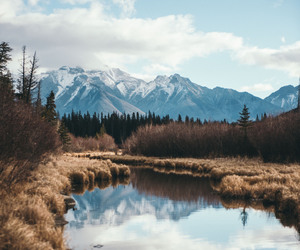 adventure, autumn, and clouds image